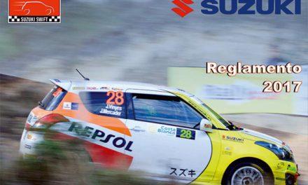 Disponible el reglamento de la Copa Suzuki Swift 2017