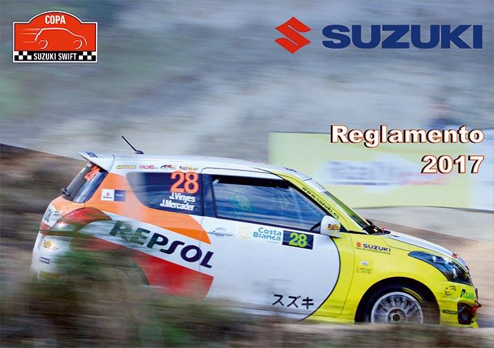 Reglamento Copa Suzuki Swift 2017