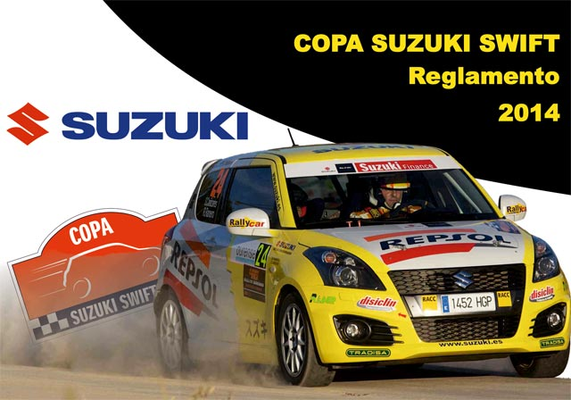 14 inscritos en la Copa Suzuki Swift 2014
