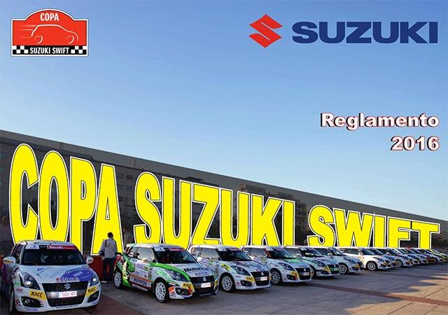 Disponible el Reglamento de la Copa Suzuki Swift 2016