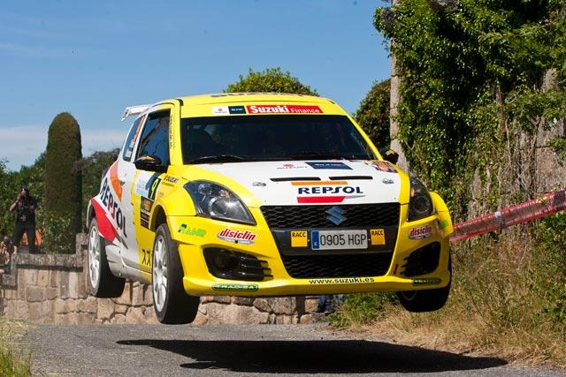 Gorka Antxustegi y Joan Vinyes, segundo y tercero en las 2RM en el 46 Rallye de Ourense