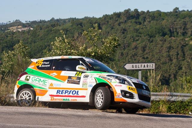 Resumen en video de las Copas de Promoción en el 46 Rallye Ourense