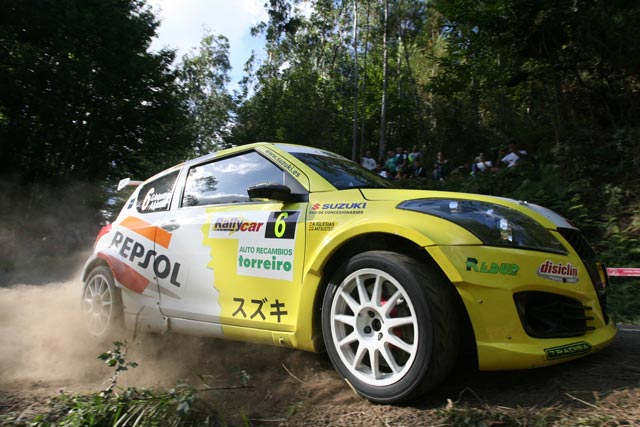 Gorka Antxustegi, segundo entre los dos ruedas motrices en el 44 Rallye de Ferrol