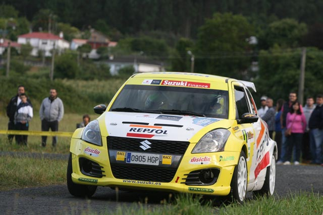 El equipo Suzuki-Repsol llega al 50 Rallye Príncipe de Asturias