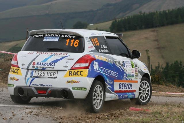 Resumen en vídeo de las Copas de Promoción en el 50 Rallye Príncipe de Asturias