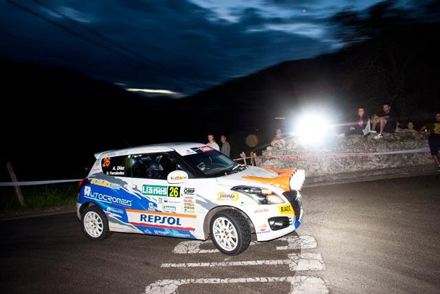 Adrián Díaz es el vencedor de la Copa Suzuki en el 37 Rallye de Llanes