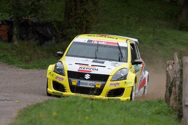 Victoria de Gorka Antxustegi en el Campeonato de Pilotos dentro del 37 Rallye de Llanes