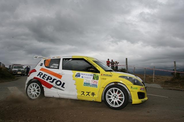 Victoria de Joan Vinyes en el 50 Rallye Príncipe de Asturias dentro del Campeonato de España de Pilotos.