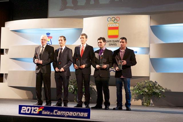 Entregas de premios, fin de la temporada 2013 para Suzuki-Repsol