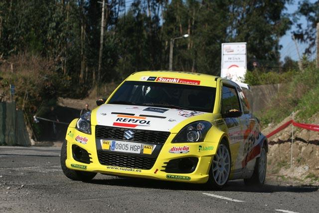 50 Rallyes Rías Baixas, el equipo Suzuki-Repsol presente con todas sus fuerzas.