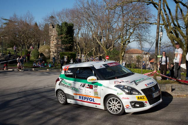 Victoria de Victor Pérez en el Rally Cidade de Guimarães
