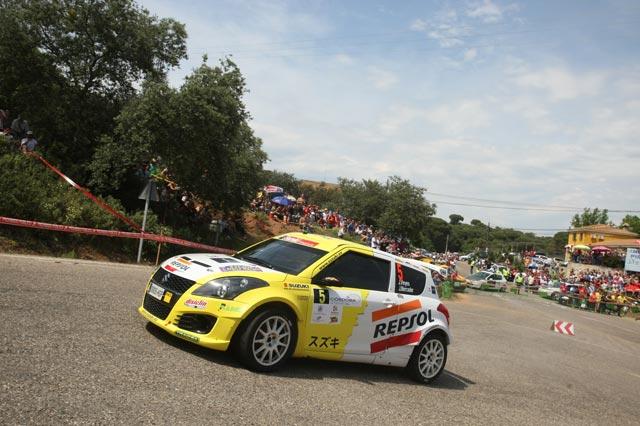 Video, el equipo Suzuki-Repsol en el 32 Rallye Sierra Morena