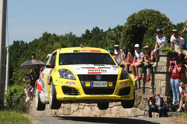 Increíble Joan Vinyes en el 47 Rallye de Ourense