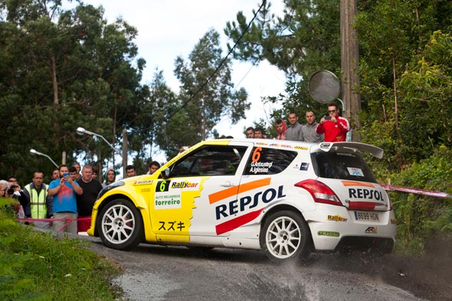 45 Rallye de Ferrol, victoria de Gorka Antxustegi en la División II