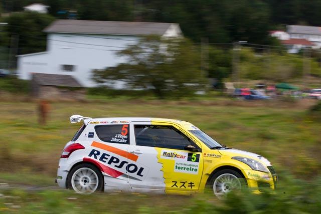 El equipo Suzuki-Repsol en el 51 Rallye Príncipe de Asturias