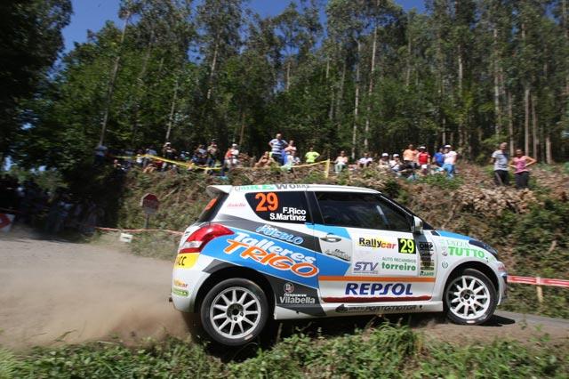 Copa Suzuki Swift, victoria de Fernando Rico en el 45 Rallye de Ferrol