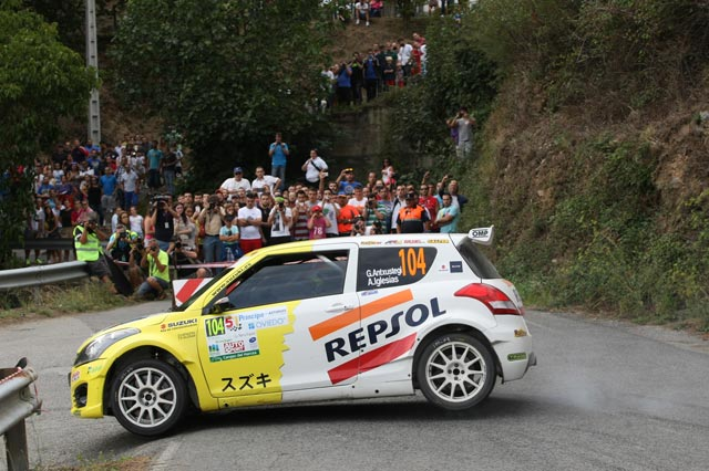 Victoria de Gorka Antxustegi en la División II en el 51 Rallye Príncipe de Asturias