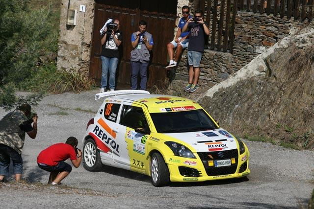 38 Rallye de Llanes, próximo objetivo para el equipo Suzuki-Repsol