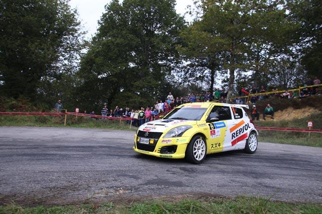 Nuevo podium para el Equipo Suzuki-Repsol en el 36 Rallye de Santander.