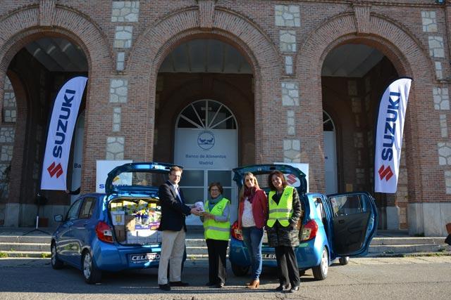 Campaña solidaria del nuevo Suzuki Celerio