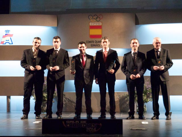 Las entregas de premios, ponen fin a la temporada 2014 del Equipo Suzuki-Repsol