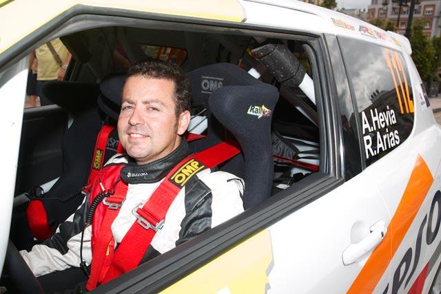 Alberto Hevia sustituirá a Joan Vinyes en el 33 Rallye Sierra Morena
