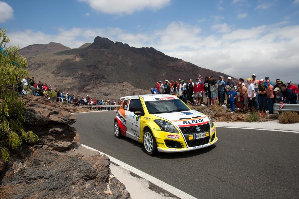 Segunda plaza en 2RM para Gorka Antxustegi en el 39 Rally Islas Canarias