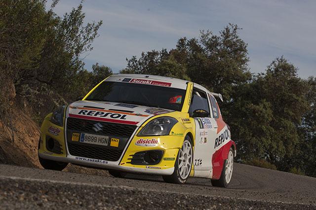 El equipo Suzuki-Repsol en el 51 Rallye Rías Baixas
