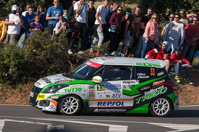 Fernando Rico gana la Copa Suzuki Swift en el 33 Rallye Sierra Morena