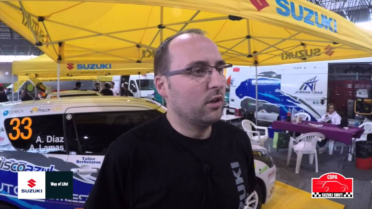 Conoce a los pilotos de la Copa Suzuki Swift 2015. Hoy Adrián Díaz