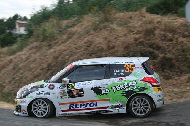 David Cortés gana la Copa Suzuki Swift en el 48 Rallye de Ourense