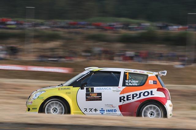 Miguel Fuster en el Rallye de Madrid con Suzuki-Repsol