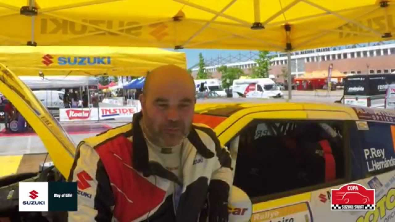 Conoce a los pilotos de la Copa Suzuki Swift 2015. Hoy Pablo Rey
