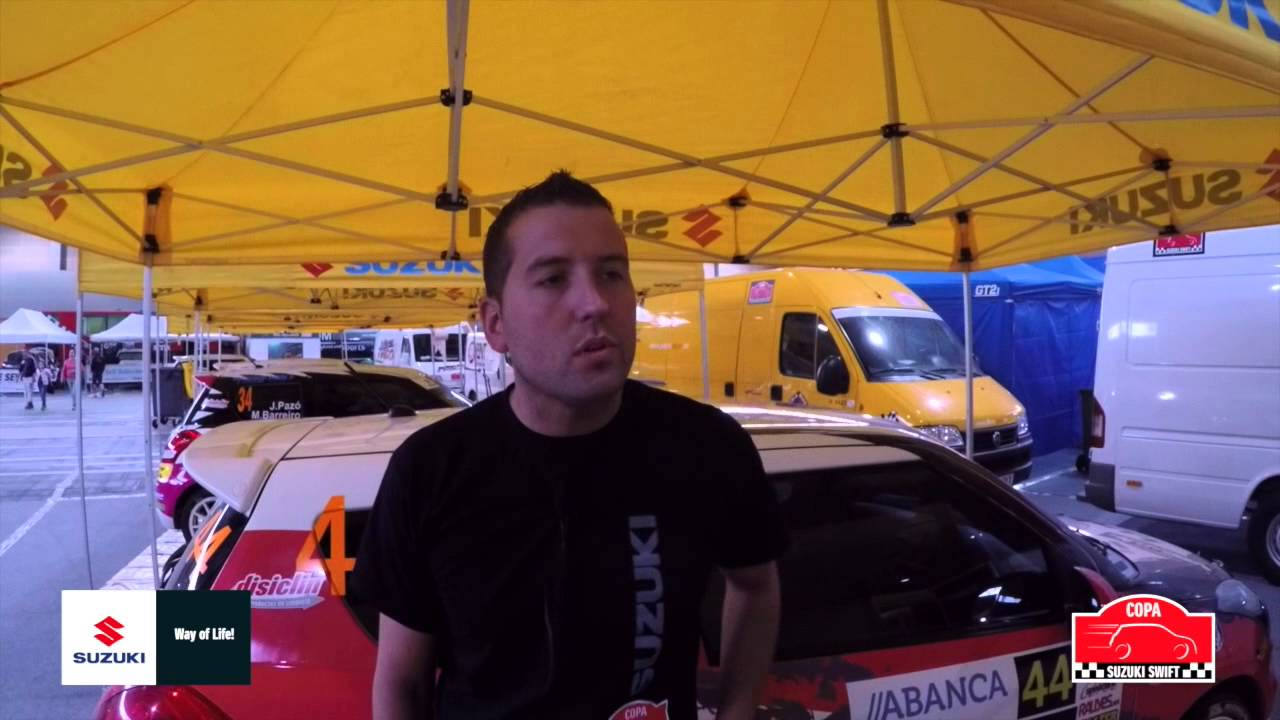 Conoce a los pilotos de la Copa Suzuki Swift. Hoy Alberto Otero