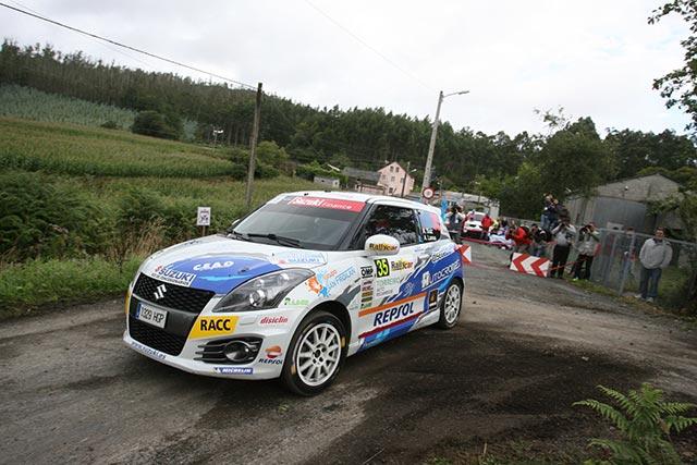 Adrián Díaz gana la Copa Suzuki Swift en el 46 Rallye de Ferrol