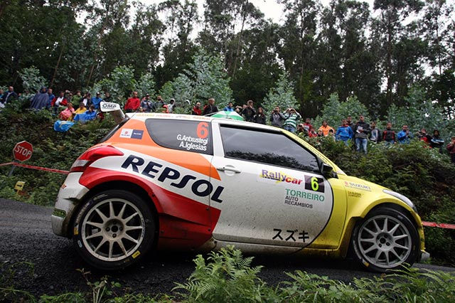 El equipo Suzuki-Repsol en el 52 Rallye Princesa de Asturias