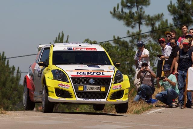 El equipo Suzuki-Repsol en todos los frentes en el 46 Rallye de Ferrol