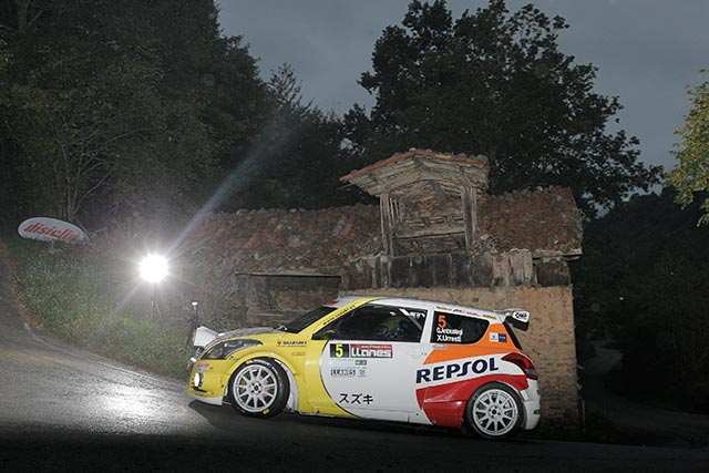 Victoria de Gorka Antxustegi en las 2RM en el 39 Rallye Villa de Llanes