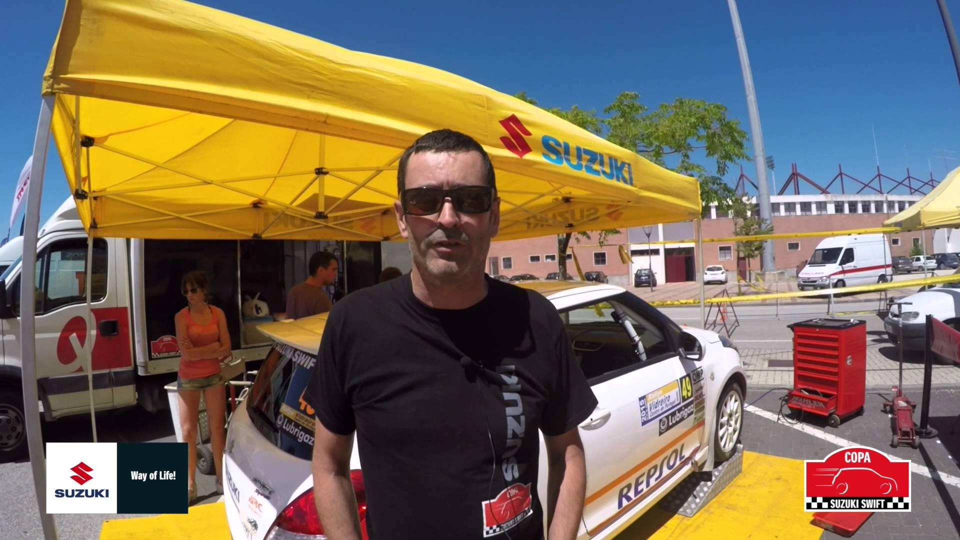 Conoce a los pilotos de la Copa Suzuki Swift 2015. Hoy José Luis Carrera