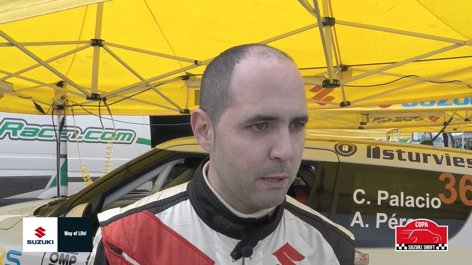 Conoce a los pilotos de la Copa Suzuki Swift 2015. Hoy César Palacio