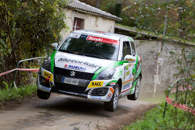 Rallye Rías Altas, victoria de Fernando Rico en la Copa Suzuki Swift