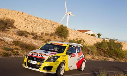 Adrián Díaz/Andrea Lamas lideran las 2RM tras la primera etapa del Rallye Villa de Adeje