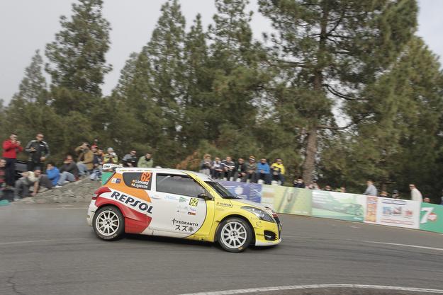 Al frente de los 2RM tras la primera etapa del 40 Rally Islas Canarias