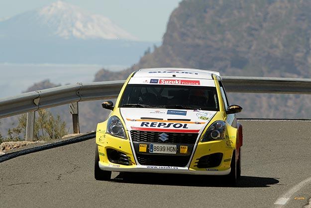 Doblete del equipo Suzuki-Repsol entre los 2RM en el 40 Rally Islas Canarias