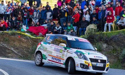 Efrén Llarena gana la Copa Suzuki Swift en el 34 Rallye Sierra Morena