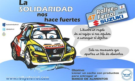 El 47 Rallye de Ferrol, nueva parada para el equipo Suzuki-Repsol