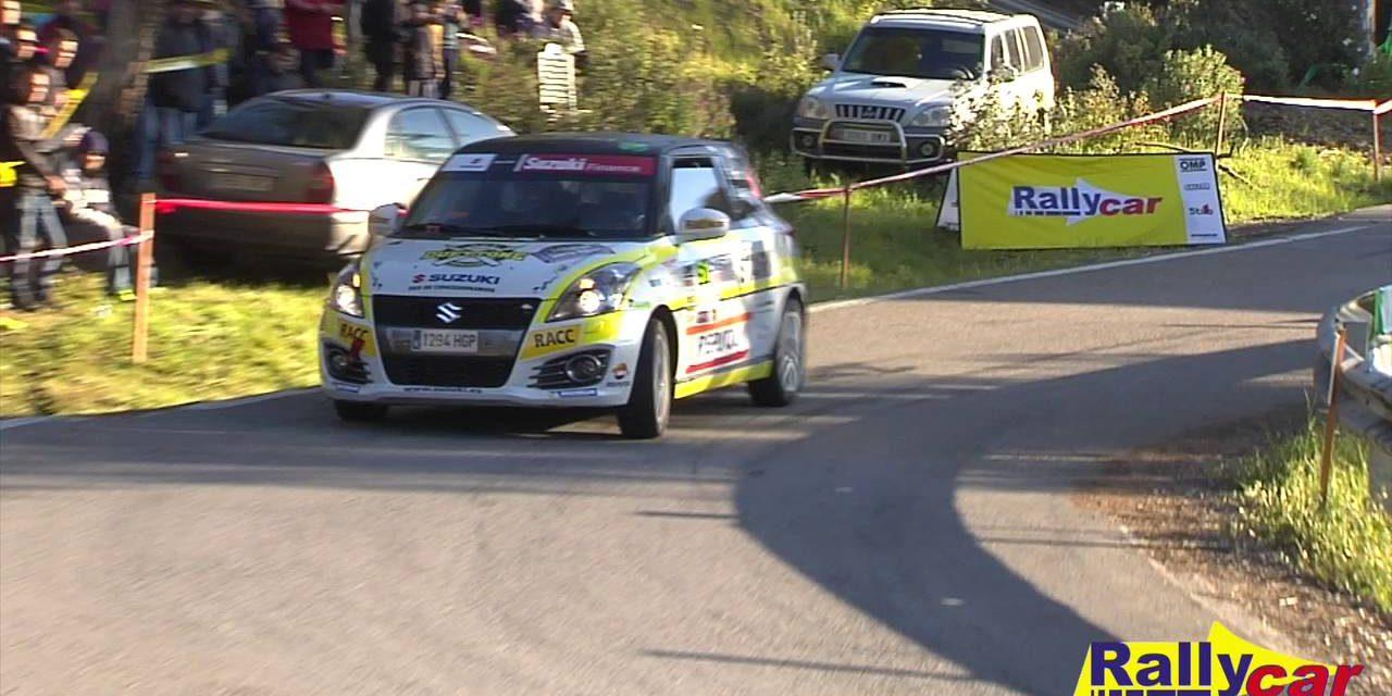 Video, la Copa Suzuki Swift 2016 tras el Rallye de Ferrol
