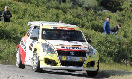 El equipo Suzuki-Repsol con todos sus pilotos en el Rallye La Nucía