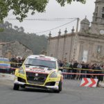 El Suzuki Swift R+ inscrito en el 13 Rallye Sur do Condado