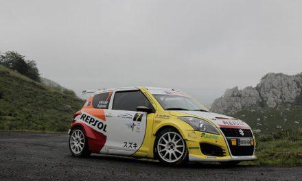 El equipo Suzuki-Repsol en el 40 Rallye de Llanes
